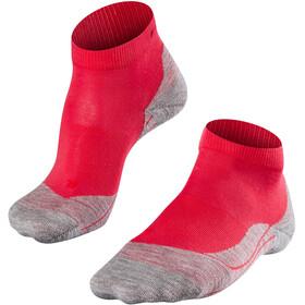 Falke RU4 Calzini da corsa Donna, rosso/grigio